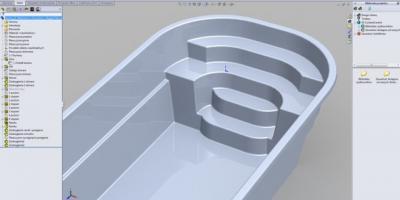 Becken CAD-Design